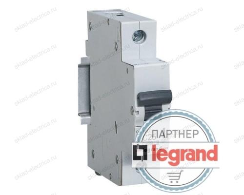 Автоматический выключатель онополюсный 6А хар-ка С Legrand 419661