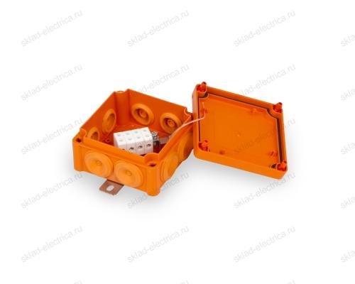 Коробка распределительная огнестойкая 100х100мм PP 4х1,5-6мм.кв E90 (FPT1010PP46) ENSTO