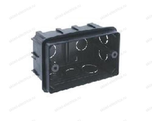 PE Коробка монтажная под ANAM 1-ая для сплошных стен, с крепежом, 100Х60Х50мм IP20