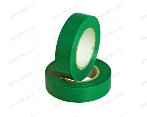 Изолента ПВХ 15мм зеленая