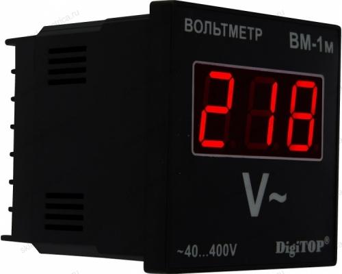 Вольтметр цифровой однофазный щитовой Вм-1м DigiTOP